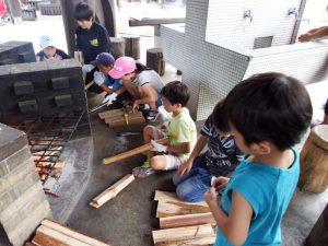 いのちを守る@キッズ防災サバイバル教室 in 千葉市少年自然の家