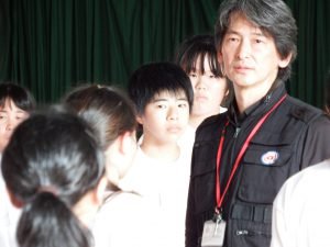 いのちの体験教師熊本 in 松平中学校